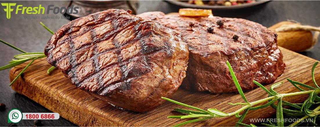 Top 5 phần thịt bò Mỹ ngon nhất cho món Steak